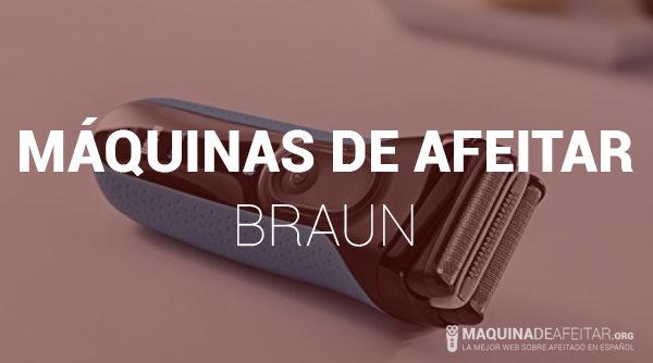 Máquina de Afeitar Braun