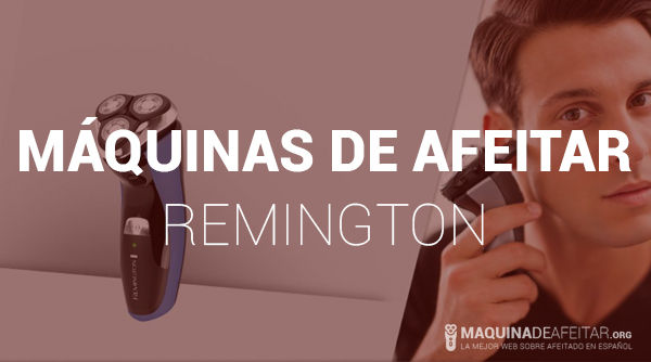 Máquina de Afeitar Remington
