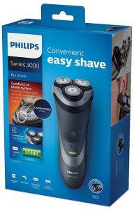 maquinas de afeitar philips serie 3000 comparativas