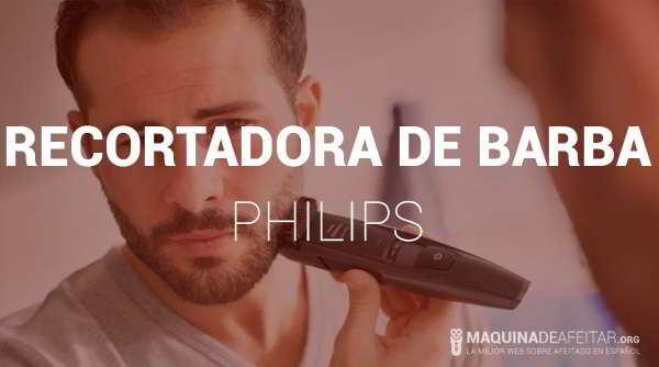 Recortadora de Barba Philips