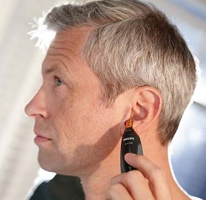 maquina para cortar pelo de orejas