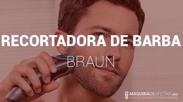 Recortadora de Barba Braun