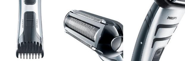 Philips-TT2040-32-Afeitadora-corporal-BodyGroom-inalámbrica-con-dos-cabezales