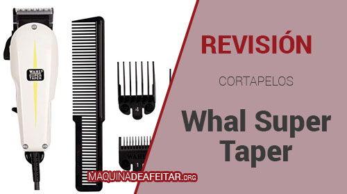 Cortapelos Wahl Super Tape
