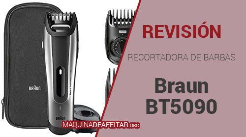 Recortador de Barbas Braun BT5090