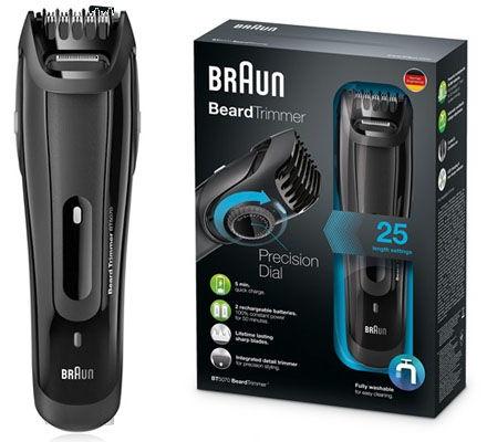 recortadora de barba Braun BT5070