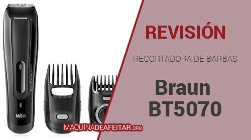 Recortador de Barba Braun BT5070
