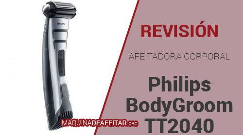 Afeitadora Corporal Philips BodyGoom TT2040