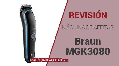Máquina de Afeitar Braun MGK3080