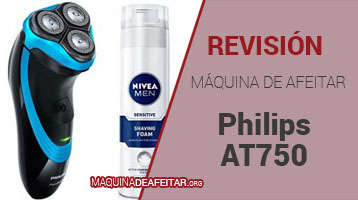 Máquina de Afeitar Philips AT750