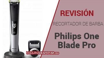 Recortador de Barbas Philips One Blade Pro