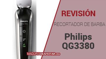 Recortadora de Barbas Philips QG3380/16 Opiniones